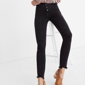 "Madewell 9"" High-Rise Ankle Skinny Jeans"